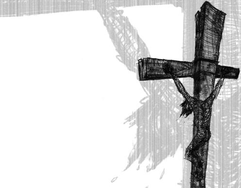 Crucifixión -fondo de pantalla 1-
